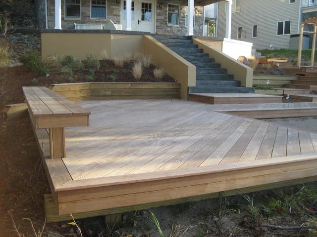 Long Beach, Indiana Ipe Deck contemporary-deck