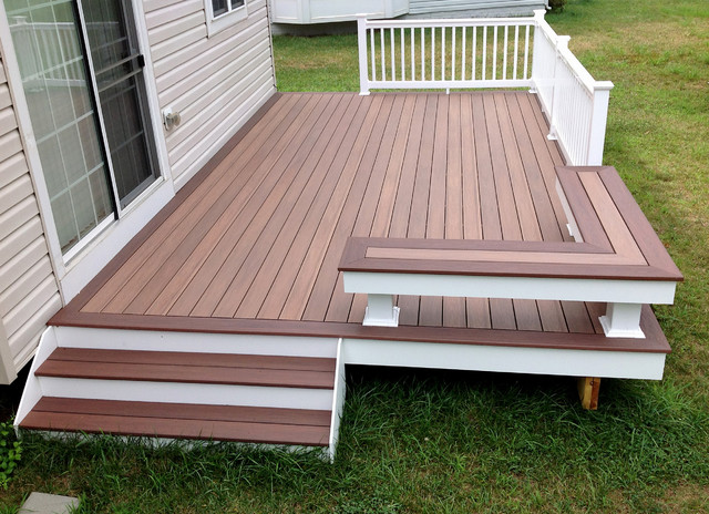 Pictures Of Sundecks Stairs And Benches: Low Maintenance Decks