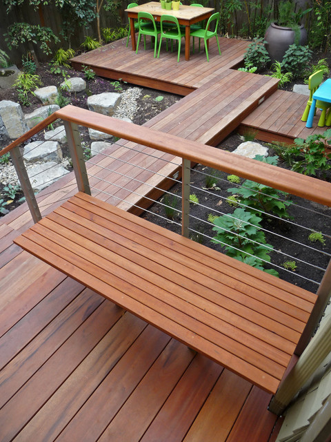 M. Tigerwood Deck contemporary-deck