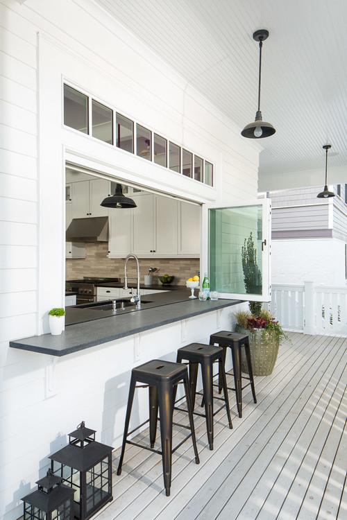 Weekend Design 5 Ways To Make A Pass Through Kitchen