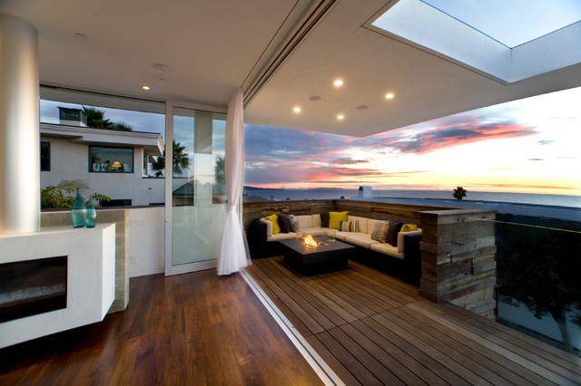 Manhattan Beach Residence contemporary-deck