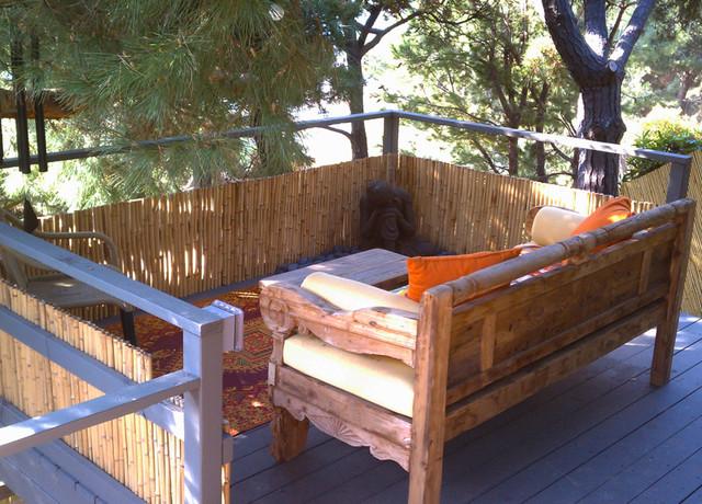 Meditation Deck tropical-patio
