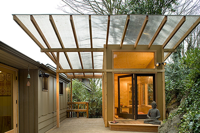 Meditation Hut Asian Deck Seattle By Greif