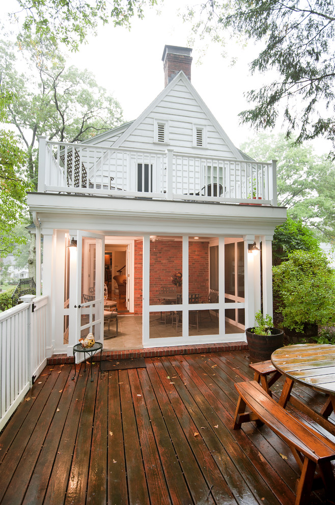 Deck - traditional deck idea in Boston with no cover