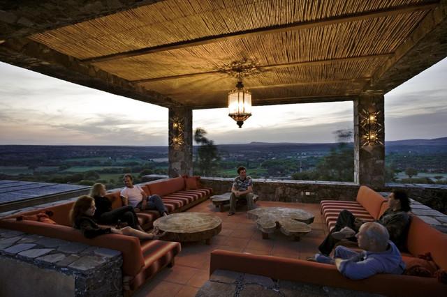 Amerikanische Terrasse mexico house amerikanischer südwesten terrasse york