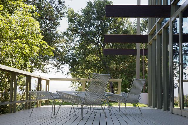 Mid Century Modern Outdoor Deck Modern Deck Los