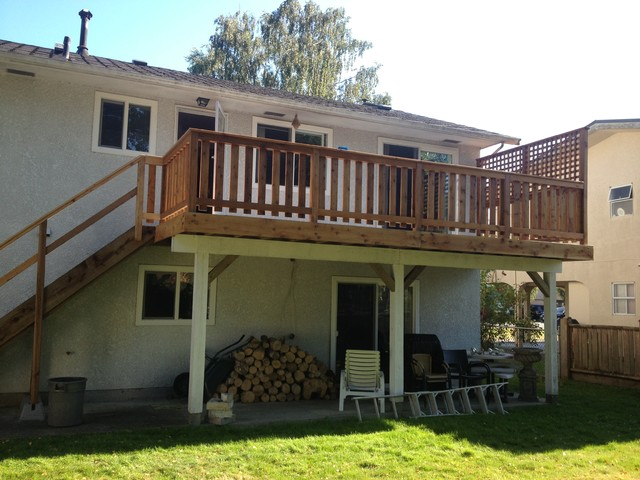 Mikki Lee & Earl's New Second Level Deck (Ladner) traditional-deck
