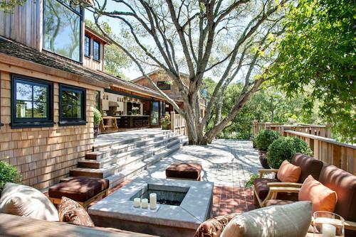 contemporary exterior by Urrutia Design
