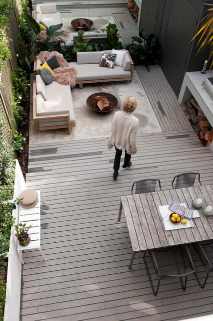 MillHill Terrace midcentury-deck