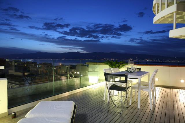 small apartment in Reggio Calabria contemporary-patio