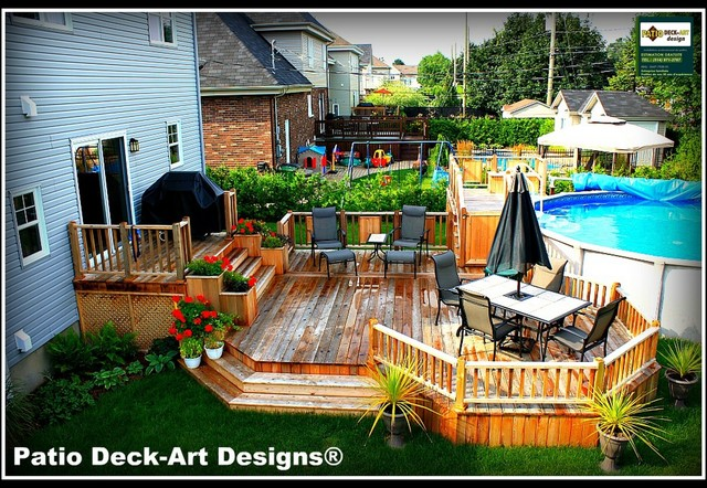PATIO DECK-ART DESIGNS OUTDOOR LIVING modern-deck