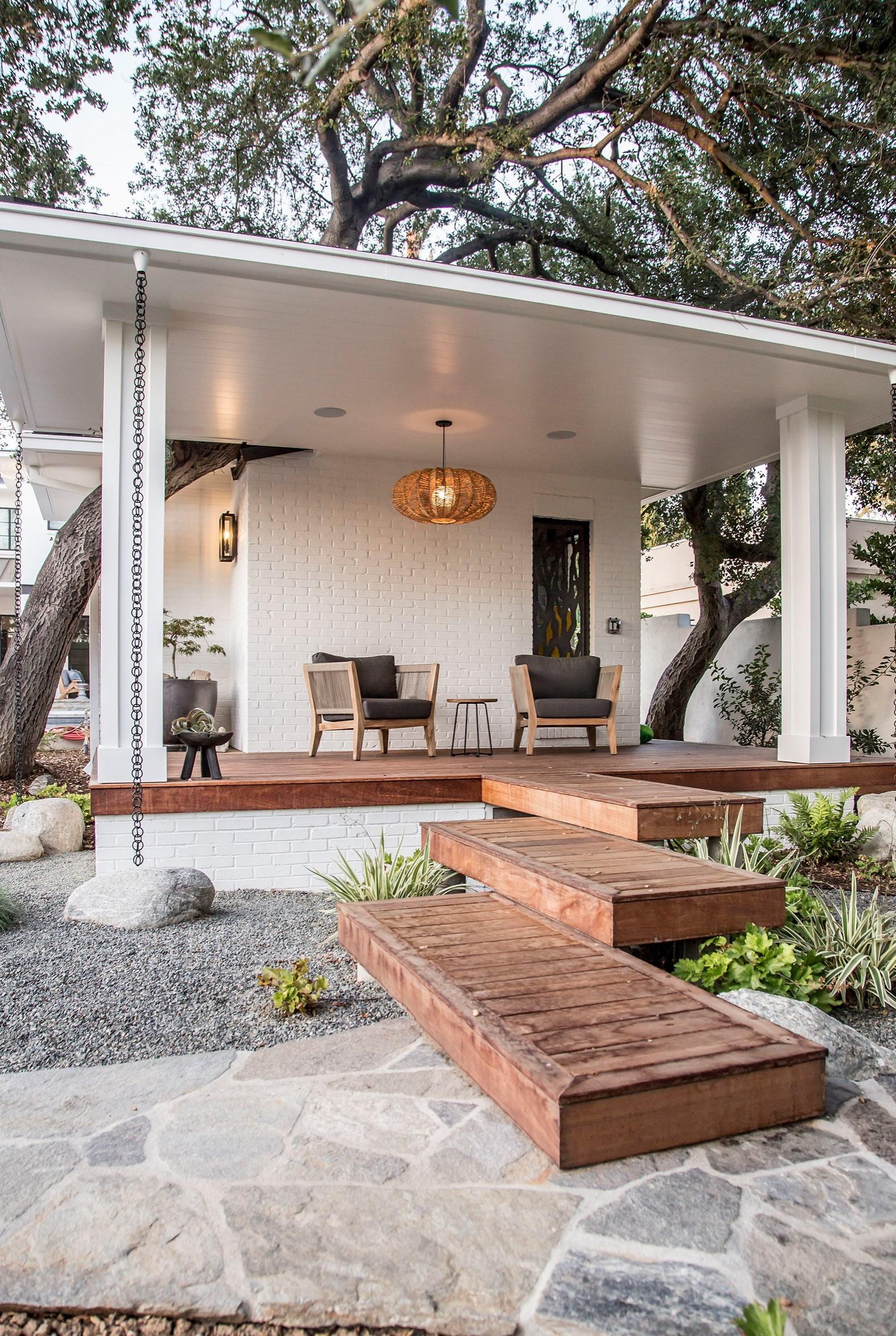 Patio En Bois De Palette 75 beautiful farmhouse deck pictures & ideas | houzz