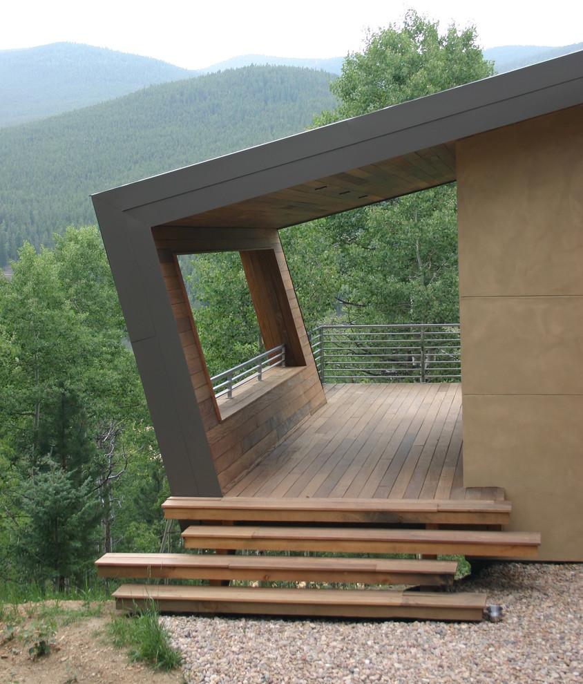 Deck - modern deck idea in Denver