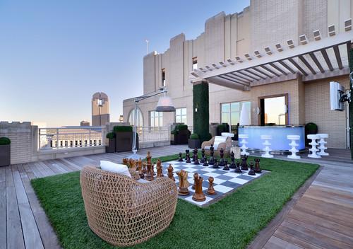 Private Residence - Modern Rooftop Garden modern patio