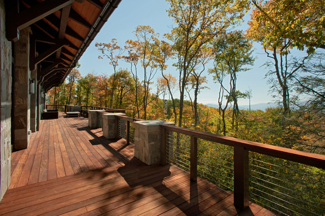 Modern Mountain Home Modern Deck Charlotte By