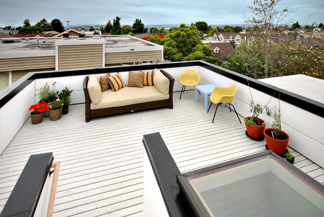 roof deck design. Modern Patio Contemporary-deck Roof Deck Design H
