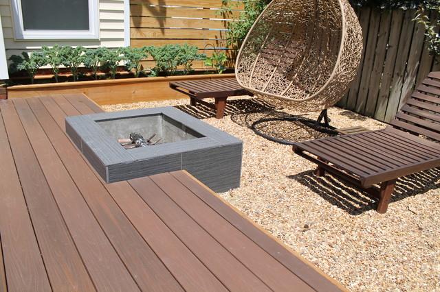 Modern Platform Deck And Outdoor Space