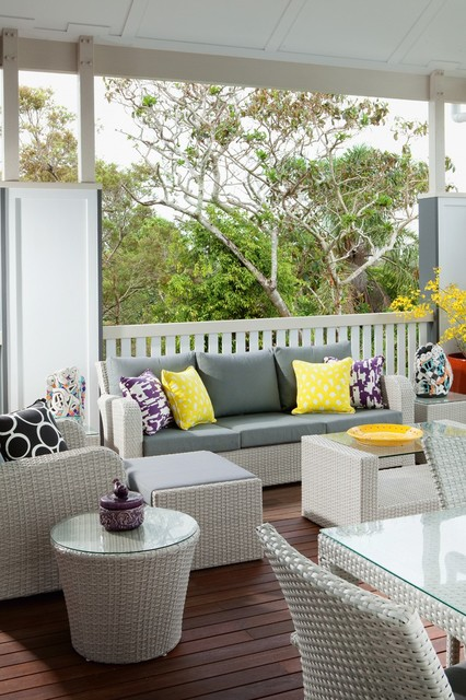 Modern Queenslander - Shorncliffe - Transitional - Deck - Brisbane ...