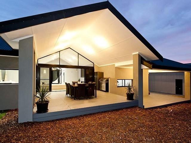 Modern Rural Home Design Project Modern Deck Perth