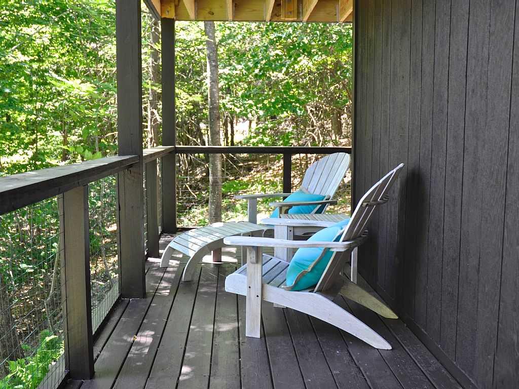 Modern Rustic Bearsville Rental Staged