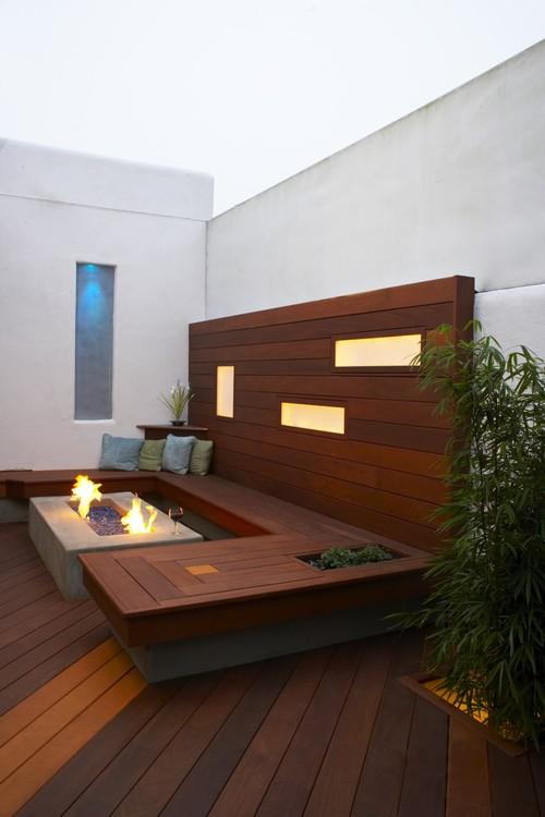 Morro Bay Breezeway modern patio