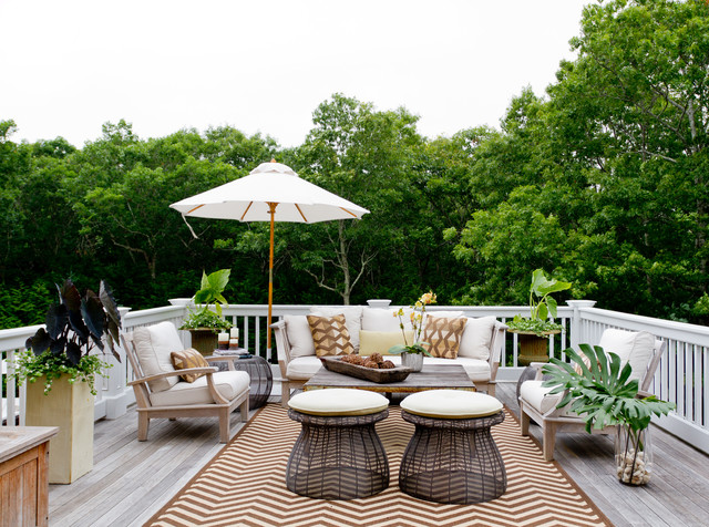 My Houzz Iris Dankner Traditional Deck New York