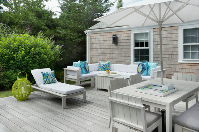 Nantucket Polpis Road Beach Style Deck Boston By