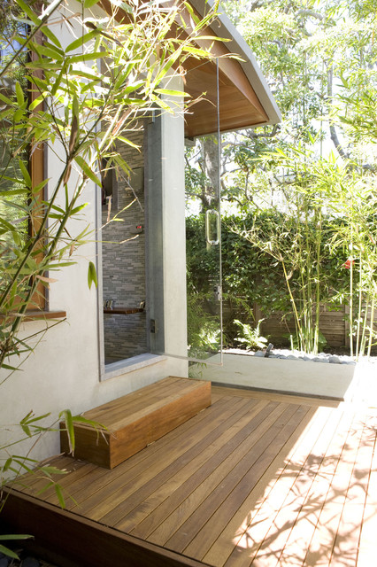 Native Woods Contemporary Deck Los Angeles By Tim