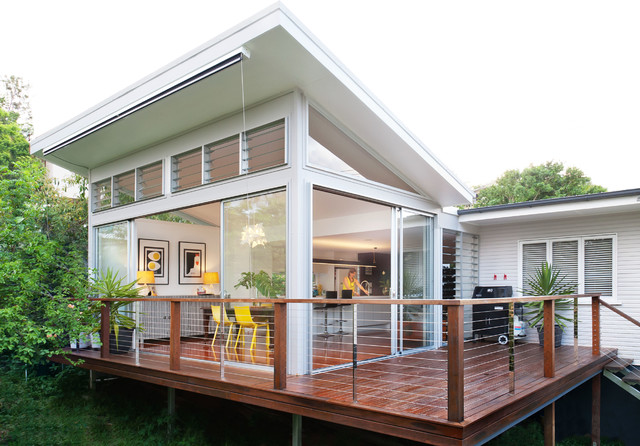 New Extention To Rear Contemporary Deck Brisbane