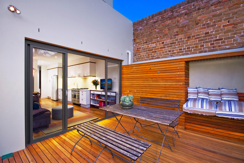New Terrace Home - Contemporary - Deck - Sydney - by ...