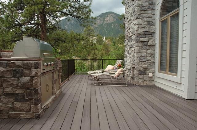 Nexgen grey birch composite decking for Grey composite decking