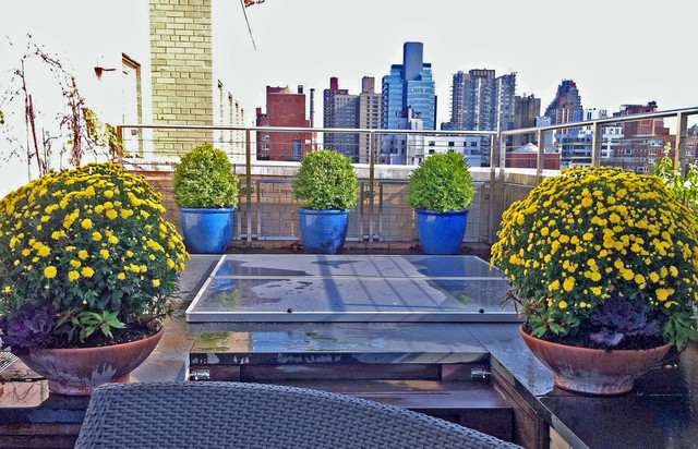 Nyc Garden Design find this pin and more on garden design nyc Nyc Terrace Design Roof Garden Bluestone Paver Patio Deck Planters Jacuzzi