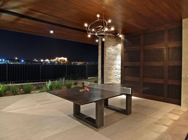 Order A Concrete Ping Pong Table From Touchstone Contemporary Deck