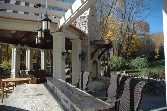 Orono Residence traditional-deck