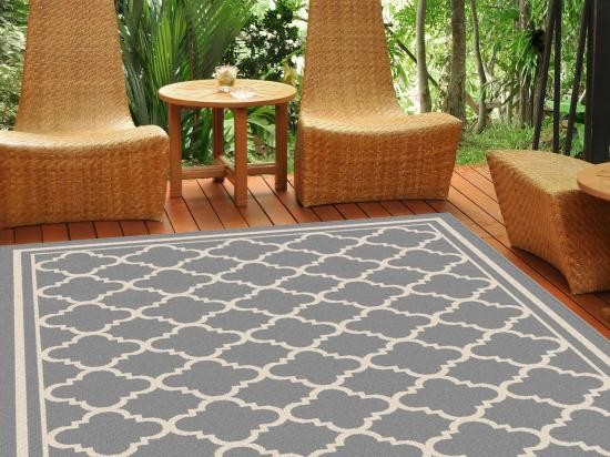 Outdoor Beach Style Rugs Traditional Deck