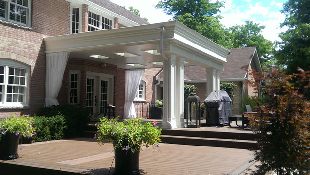 Outdoor Curtains/Mosquito Drapes/Porch Screens - Deck - Toronto - by ...