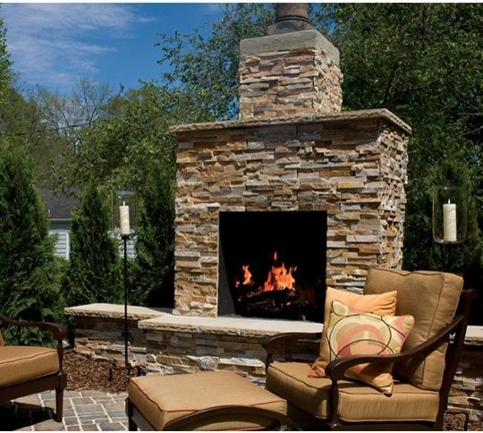 Outdoor Fireplace Kits 30 In Pre Engineered Masonry