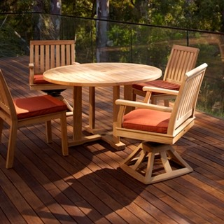 Outdoor Furniture-Teak - Transitional - Deck - boston - by Paine's Patio