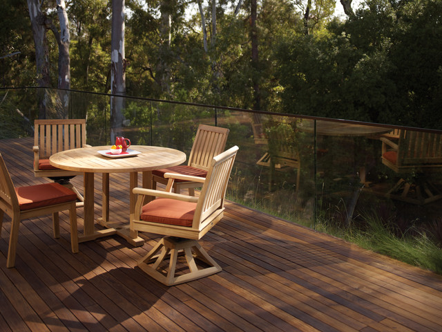 Outdoor Furniture Teak Transitional