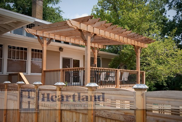 Outdoor Living by Heartland Home Improvements traditional-deck