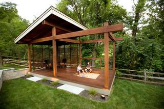 Outdoor Living Symmes Modern Porch Cincinnati By