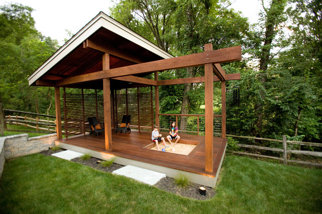 Outdoor Living Symmes Modern Porch Cincinnati By