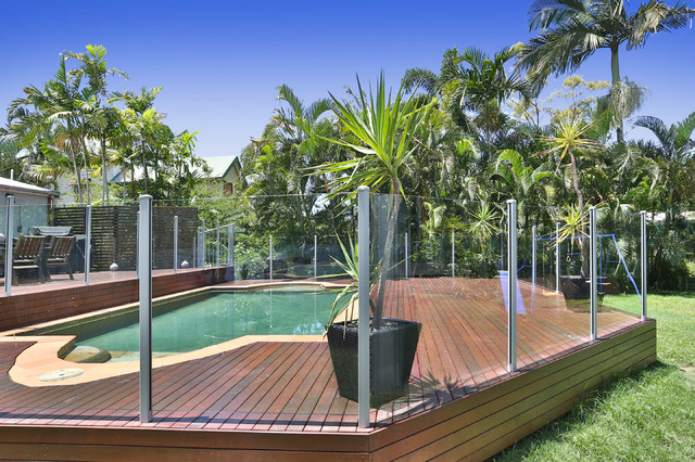 Design ideas for a tropical deck in Townsville.