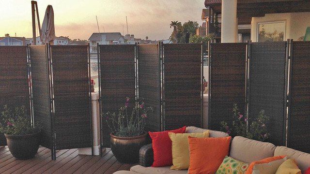 Outdoor Partitions And Screens Contemporary Deck Sydney By Portable Partitions Australia