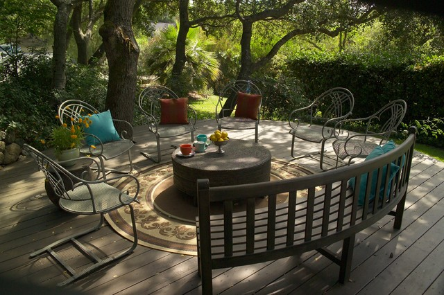 contemporary patio by Jane Ellison