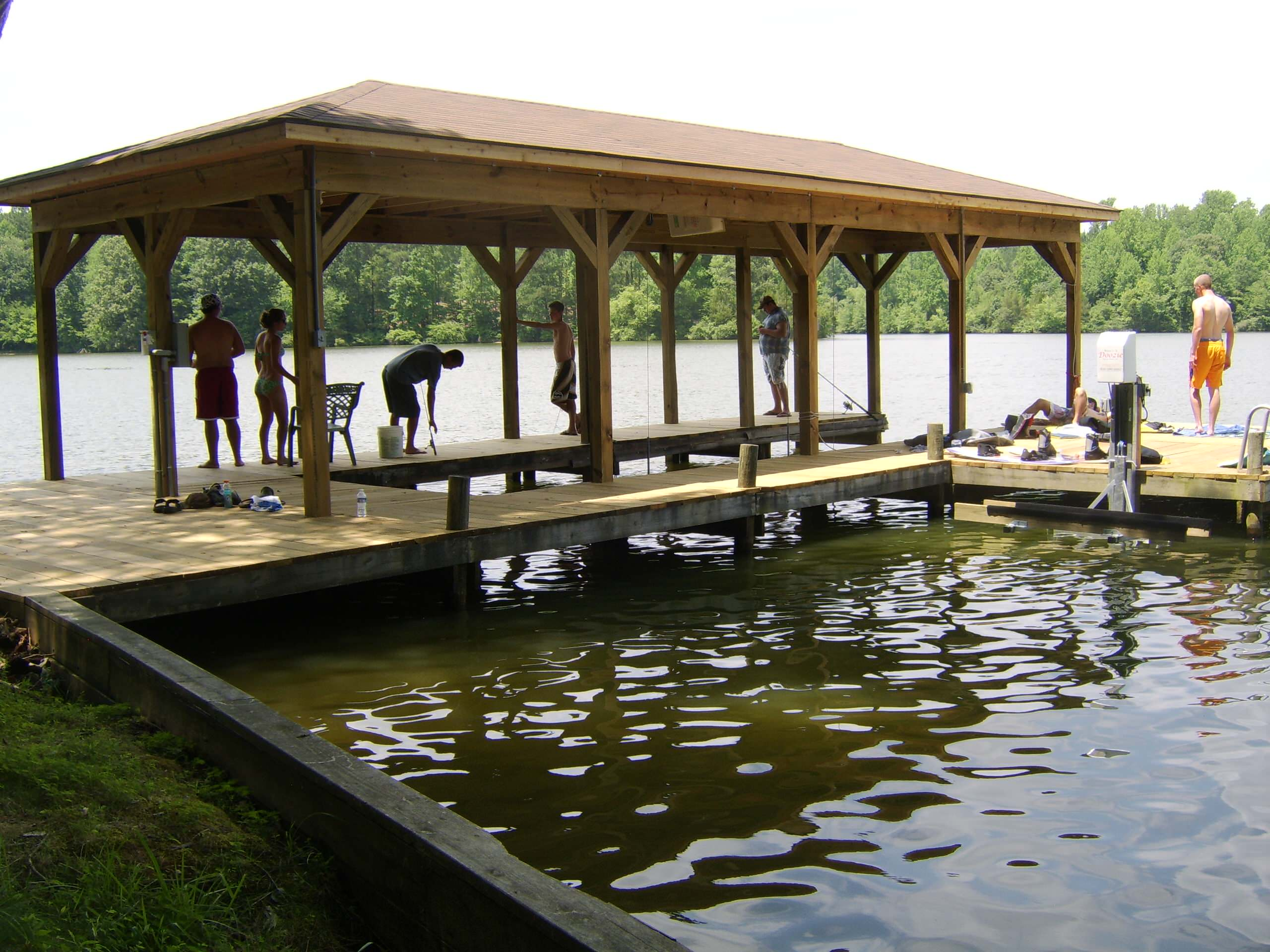 Outdoor spaces--decks;  boat docks