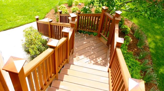 Outdoor Spaces! contemporary-deck