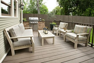 Pamela Hope Design's Projects traditional-deck
