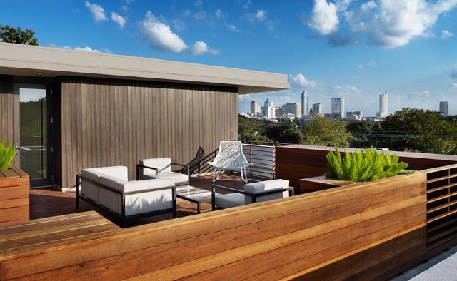 Parkside residences modern deck austin by for Terrazas johnsons