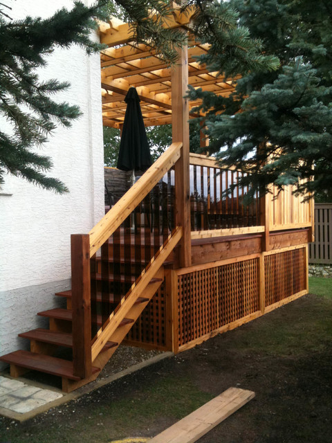 Patterson Deck traditional-deck
